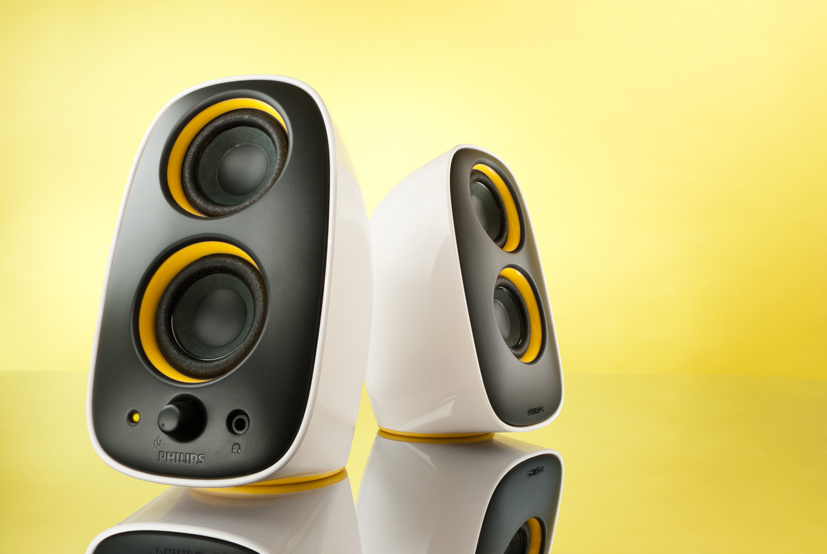 White_Phillips_Desktop_Speakers